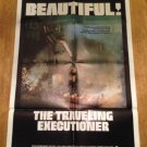 THE TRAVELING EXECUTIONER Stacy Keach Marianna Hill Original Movie Poster Style