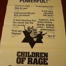 CHILDREN OF RAGE! Original Movie Poster! Cyril Cusack!!