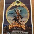 BEASTMASTER Don Coscarelli Marc Singer Tanya Roberts Original Movie Poster