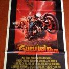 SURVIVAL RUN Peter Graves Ray Milland Vincent Van Patten Original Movie Poster