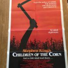 CHILDREN OF THE CORN Stephen King Linda Hamilton Original Movie Poster
