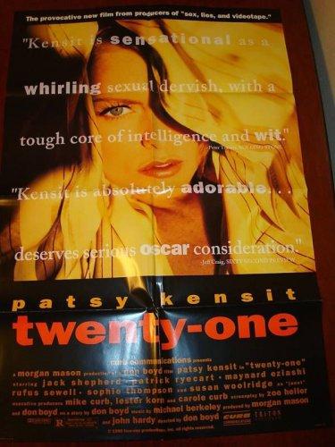 TWENTY-ONE Patsy Kensit Rufus Sewell Original Poster!!!