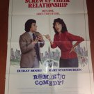 ROMANTIC COMEDY Dudley Moore Mary Steenburgen Original Movie Poster Cool!
