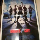 KNIGHTS OF THE CITY Leon Isaac Kennedy Nicholas Campbell Original Movie Poster