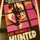 THE HUNTED Original Movie Poster! Lee Remick Scary good!!