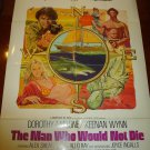 THE MAN WHO WOULD NOT DIE Dorothy Malone Keenan Wynn Aldo Ray Orig Movie Poster!
