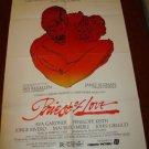 PRIEST OF LOVE Original Movie POSTER AVA GARDNER Great!