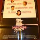 COMPROMISING POSITIONS Raul Julia! Orig Poster! Sexy!!!