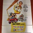 WALT DISNEY NO DEPOSIT, NO RETURN David Niven Don Knotts Original Movie Poster!