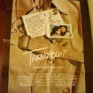 Margot Kidder Trenchcoat Original Movie Poster Rare!