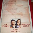 ALEX AND THE GYPSY Jack Lemon FOX Original Movie Poster