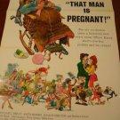 THAT MAN IS PREGNANT Original Movie Poster RARE! William Reilly