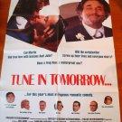 TUNE IN TOMORROW Barbara Hershey Keanu Reeves Peter Falk Original Movie Poster!!