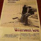 BITTERSWEET LOVE Orig poster Lana Turner Robert Lansing