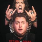 RUSSELL BRAND JONAH HILL Get Him To The Greek Rare Planet Hollywood M T-Shirt