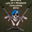 U.S. AIR FORCE NELLIS BASE 99TH SFS Life Of A Warrior Challenge NEW L T-Shirt