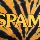 SPAM TIE-DYED Yellow and Blue L T-Shirt WAY COOL!