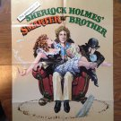 THE ADVENTURES OF SHERLOCK HOLMES' SMARTER BROTHER Gene Wilder Orig Movie Poster