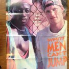 WHITE MEN CAN'T JUMP Wesley Snipes Woody Harrelson Orig Dual Sided Movie Poster