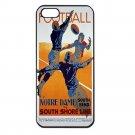 NOTRE DAME FOOTBALL VINTAGE Apple Iphone Case 4/4s 5/5s 5c 6 or 6 Plus PICK