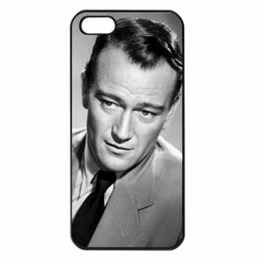 JOHN WAYNE HOLLYWOOD'S TOUGH GUY Apple Iphone Case 4/4s 5/5s 5c 6 or 6 Plus PICK
