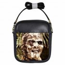 ZOMBIE WE ARE GOING TO EAT YOU! Lucio Fulci Killer Leather Sling Bag Small Purse