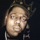 NOTORIOUS B.I.G. BIGGIE SMALLS Original Brooklyn Mint JEWELED CROWN XXL T-Shirt