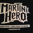 RICHARD CHEESE & LOUNGE AGAINST THE MACHINE Martini Hero Original L T-Shirt