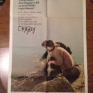 CHARLY Cliff Robertson Claire Bloom Lilia Skala Original Movie Poster