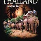 THAILAND JUNGLE TOUR Joligolf Original XL T-Shirt! Elephants