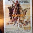 CARAVANS Anthony Quinn Christopher Lee Original Style B Movie Poster