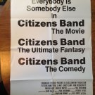 CITIZENS BAND AKA Handle with Care Paul Le Mat Candy Clark Original Movie Poster