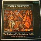 NEVILLE MARRINER Italian Concertos Cherubini Vivaldi Bellini Lp VG+ Mono