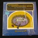 SCHULZE WALTERS Telemann Instrumental Music Lp VG+ Counterpoint Esoteric 617