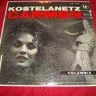 CARMEN Andre Kostelanetz & his Orchestra CL-735 LP