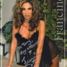 FRANCINE FOURNIER ECW WWF WWE Hand Signed In Person Autographed 8x10