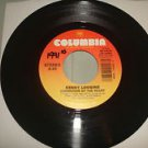 KENNY LOGGINS CONVICTION OF THE HEART / MY FATHER'S HOUSE 45 rpm Columbia Record
