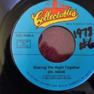 DR. HOOK Sharing The Night Together / Sexy Eyes 45 rpm NEAR MINT