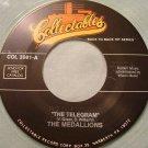 MEDALLIONS THE TELEGRAM / COUPE DE VILLE BABY New Clear Vinyl 45 rpm Record