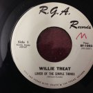 WILLIE TREAT Lover Of The Simple Things / Some Days It's Monday R.G.A. 45 HEAR!!