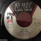 BETTE MIDLER The Rose / When A Man Loves A Woman 45 rpm NEAR MINT