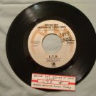 L.T.D. NEVER GET ENOUGH OF YOUR LOVE / MAKE SOMEONE SMILE TODAY! A&m 45 rpm