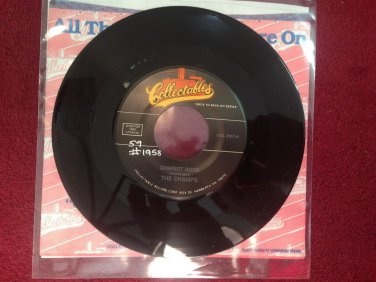 THE CHAMPS Chariot Rock / El Rancho Rock 45 rpm NM Collectables