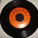 WARNER MACK This Little Hurt / Surely 45 Rockabilly Decca PROMO Hear!