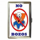 NO BOZOS Cigarette Money Case ID Holder or Wallet!