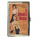 A WOMAN'S WOMAN LESBIAN SEX BAD GIRL Cigarette Money Case ID Holder or Wallet!