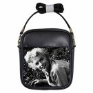 MARILYN MONROE HI THERE Leather Sling Bag Small Purse