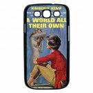 A WORLD ALL THEIR OWN BAD GIRL LESBIAN Samsung Galaxy S III Case (Black)