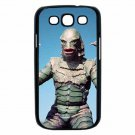 CREATURE FROM THE BLACK LAGOON COLOR Samsung Galaxy S III Case (Black)