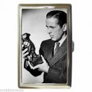 Humphrey Bogart MALTESE FALCON Cigarette Money Case ID Holder or Wallet! WOW